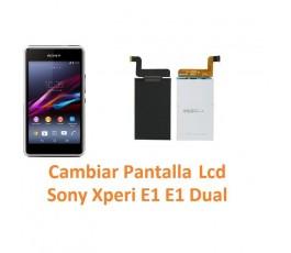 Cambiar Pantalla Lcd Sony Xperia E1 E1 Dual D2004 D2005 D2104 D2105 - Imagen 1