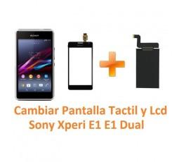 Cambiar Pantalla Táctil y Lcd Sony Xperia E1 E1 Dual D2004 D2005 D2104 D2105 - Imagen 1