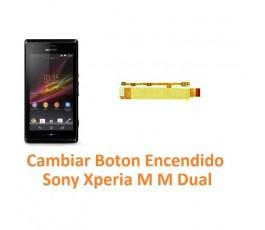Cambiar Botón Encendido Sony Xperia M M Dual C1904 C1905 C2004 C2005 - Imagen 1