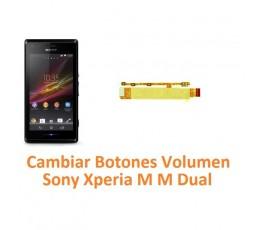 Cambiar  Botones Volumen Sony Xperia M M Dual C1904 C1905 C2004 C2005 - Imagen 1