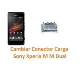 Cambiar Conector Carga Sony Xperia M M Dual C1904 C1905 C2004 C2005 - Imagen 1