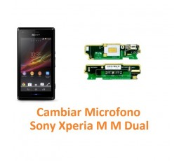 Cambiar Micrófono Sony Xperia M M Dual C1904 C1905 C2004 C2005 - Imagen 1