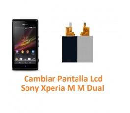 Cambiar Pantalla Lcd Sony Xperia M M Dual C1904 C1905 C2004 C2005 - Imagen 1