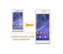 Cambiar Pantalla Tactil para Sony Xperia M2 S50H D2303 D2305 D2306 M2 Aqua - Imagen 1