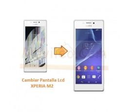 Cambiar Pantalla Lcd Display para Sony Xperia M2 S50H D2303 D2305 D2306 M2 Aqua - Imagen 1