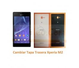 Cambiar Tapa Trasera Sony Xperia M2 S50H D2303 D2305 D2306 M2 Aqua - Imagen 1