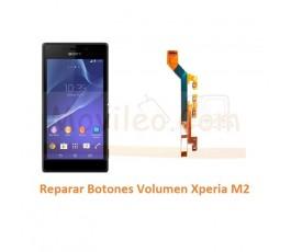 Reparar Botones Volumen Xperia M2 S50H D2303 D2305 D2306 M2 Aqua - Imagen 1