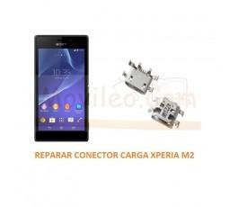 Reparar Conector Carga Sony Xperia M2 S50H D2303 D2305 D2306 M2 Aqua - Imagen 1