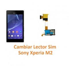 Cambiar Lector Tarjeta Sim Sony Xperia M2 M2 Aqua - Imagen 1