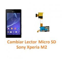 Cambiar Lector Micro SD Sony Xperia M2 M2 Aqua - Imagen 1