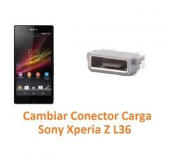 Cambiar Conector Carga Sony Xperia Z L36H C6602 C6603