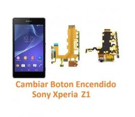 Cambiar Botón Encendido Sony Xperia Z1 L39H L39T C6902 C6903 C6906 C6916 C6943 - Imagen 1