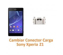 Cambiar Conector Carga Sony Xperia Z1 L39H L39T C6902 C6903 C6906 C6916 C6943 - Imagen 1
