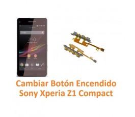 Cambiar Botón Encendido Sony Xperia Z1 Compact M51W D5503 Z1C - Imagen 1