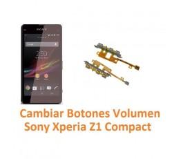 Cambiar Botones Volumen Sony Xperia Z1 Compact M51W D5503 Z1C - Imagen 1