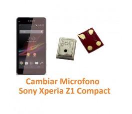 Cambiar Micrófono Sony Xperia Z1 Compact M51W D5503 Z1C - Imagen 1