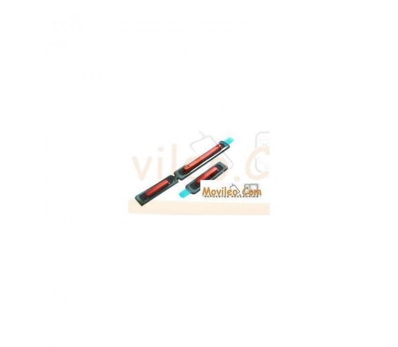 Conjunto Botones Rojo de Volumen, Encendido y Cámara para Sony Xperia P, LT22I - Imagen 1