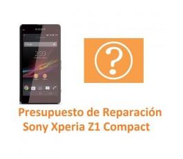 Reparar Sony Xperia Z1 Compact M51W D5503 Z1C - Imagen 1