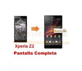 Cambiar Pantalla Completa Sony Xperia Z2 - Imagen 1