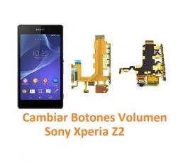 Cambiar Botones Volumen Sony Xperia Z2 L50W D6502 D6503 D6543 - Imagen 1