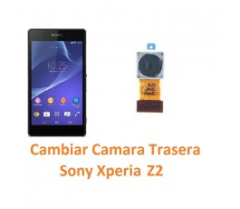 Cambiar Cámara Trasera Sony Xperia Z2 L50W D6502 D6503 D6543 - Imagen 1