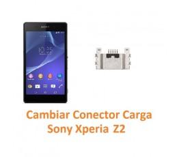 Cambiar Conector Carga Sony Xperia Z2 L50W D6502 D6503 D6543 - Imagen 1
