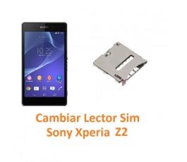 Cambiar Lector Tarjeta Sim Sony Xperia Z2 L50W D6502 D6503 D6543 - Imagen 1