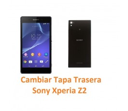 Cambiar Tapa Trasera Sony Xperia Z2 L50W D6502 D6503 D6543 - Imagen 1