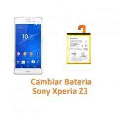 Cambiar Batería Sony Xperia Z3 L55T D6603 D6643 D6653 - Imagen 1