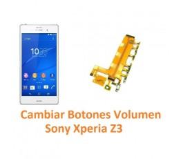 Cambiar Botones Volumen Sony Xperia Z3 L55T D6603 D6643 D6653 - Imagen 1