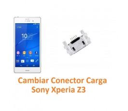 Cambiar Conector Carga Sony Xperia Z3 L55T D6603 D6643 D6653 - Imagen 1