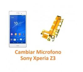 Cambiar Micrófono Sony Xperia Z3 L55T D6603 D6643 D6653 - Imagen 1