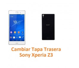 Cambiar Tapa Trasera Sony Xperia Z3 L55T D6603 D6643 D6653 - Imagen 1