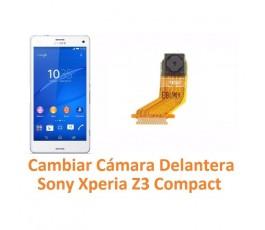 Cambiar Cámara Delantera Sony Xperia Z3 Compact Z3C - Imagen 1