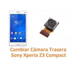Cambiar Cámara Trasera Sony Xperia Z3 Compact Z3C - Imagen 1