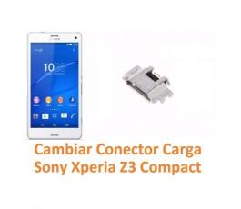 Cambiar Conector Carga Sony Xperia Z3 Compact Z3C - Imagen 1