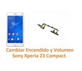 Cambiar Encendido y Volumen Sony Xperia Z3 Compact Z3C - Imagen 1