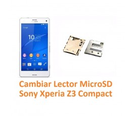 Cambiar Lector MicroSD Sony Xperia Z3 Compact Z3C - Imagen 1