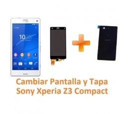 Cambiar Pantalla y Tapa Trasera Sony Xperia Z3 Compact Z3C - Imagen 1