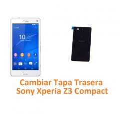 Cambiar Tapa Trasera Sony Xperia Z3 Compact Z3C - Imagen 1