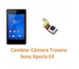 Cambiar Cámara Trasera Sony Xperia E3 E3 Dual - Imagen 1