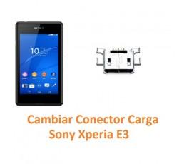 Cambiar Conector Carga Sony Xperia E3 E3 Dual - Imagen 1