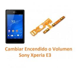 Cambiar Botón Encendido y Volumen Sony Xperia E3 E3 Dual - Imagen 1