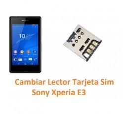 Cambiar Lector Tarjeta Sim Sony Xperia E3 E3 Dual - Imagen 1