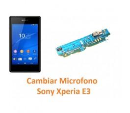 Cambiar Micrófono Sony Xperia E3 E3 Dual - Imagen 1