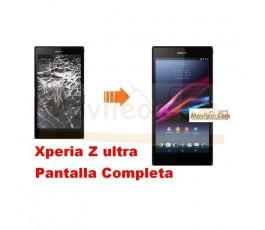 Cambiar Pantalla Completa (tactil+lcd) Xperia Z Ultra - Imagen 1