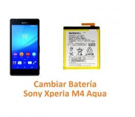 Cambiar batería Sony Xperia M4 Aqua M4 Aqua Dual - Imagen 1
