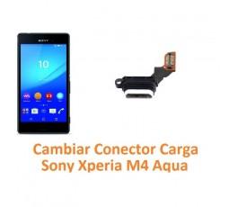 Cambiar conector carga Sony Xperia M4 Aqua M4 Aqua Dual - Imagen 1