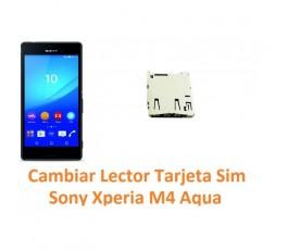 Cambiar lector tarjeta sim Sony Xperia M4 Aqua M4 Aqua Dual - Imagen 1