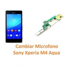 Cambiar micrófono Sony Xperia M4 Aqua M4 Aqua Dual - Imagen 1
